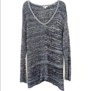 Calvin Klein Jeans Black Gray Oversized Hi Low XL